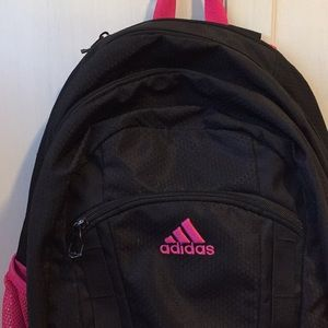 adidas Bags - Womens black and pink adidas backpack